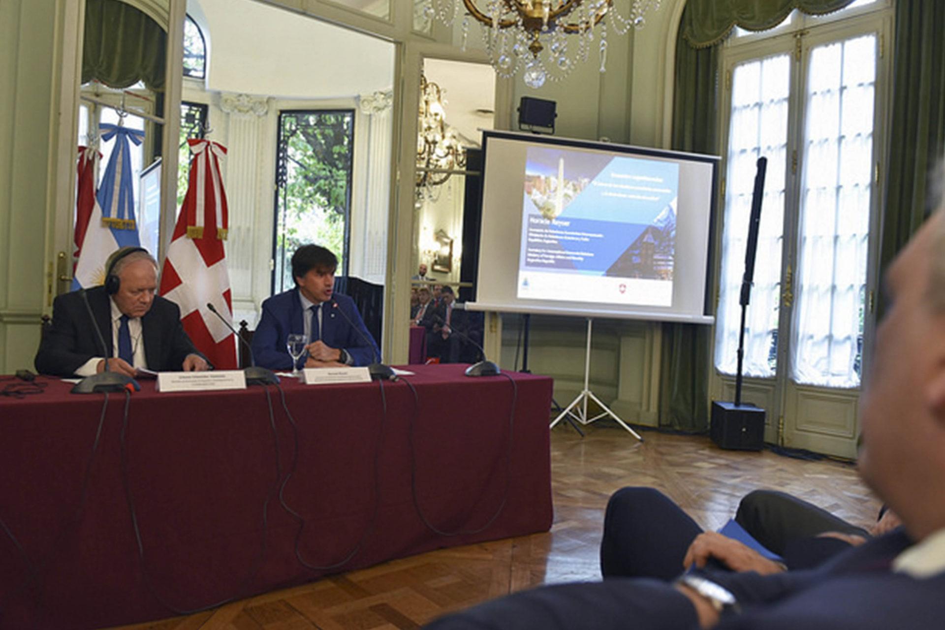 ADEBA participó de la reunión bilateral entre Argentina y Suiza