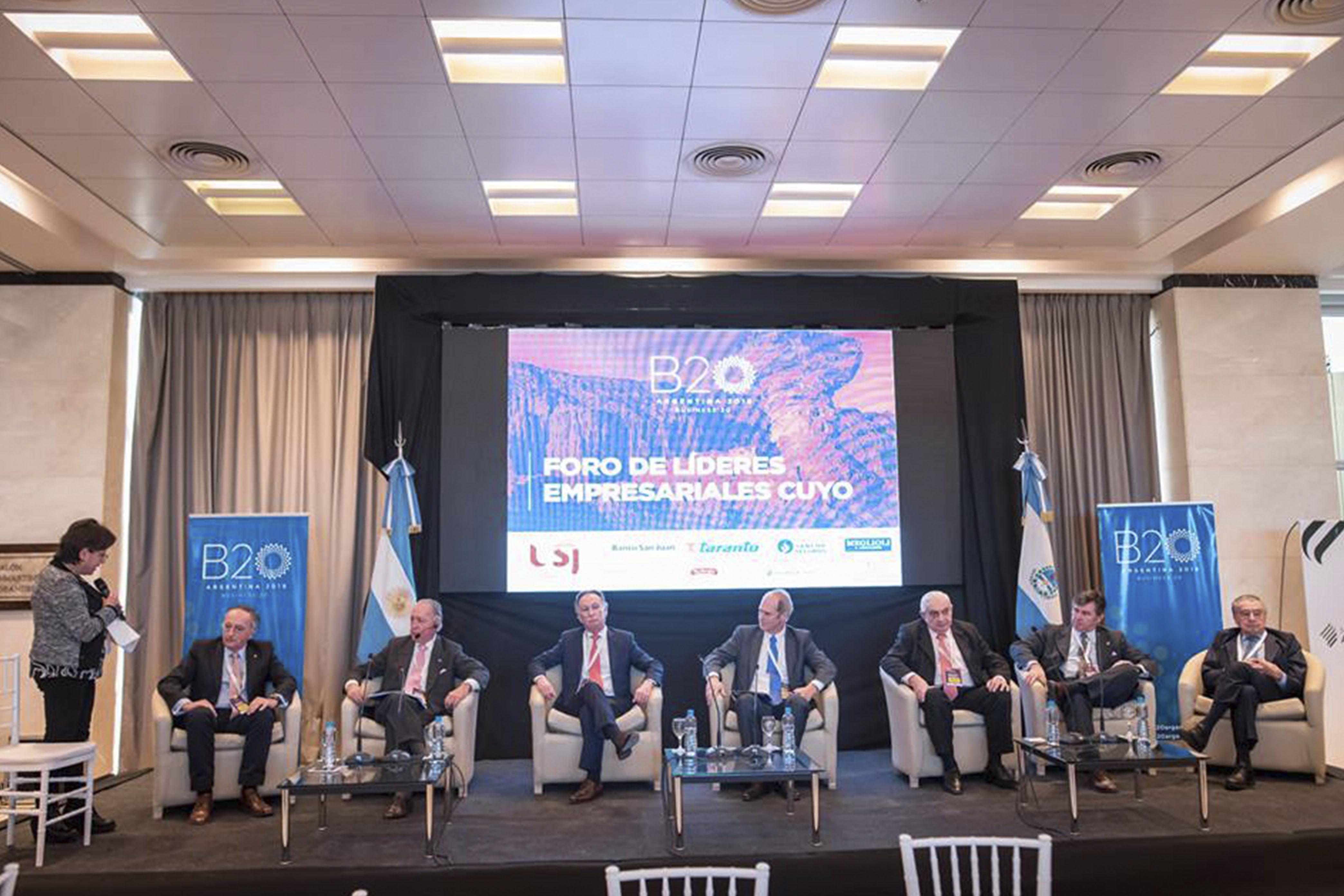 ADEBA participó del Foro de Líderes Empresariales organizado  por el Business 20 en San Juan