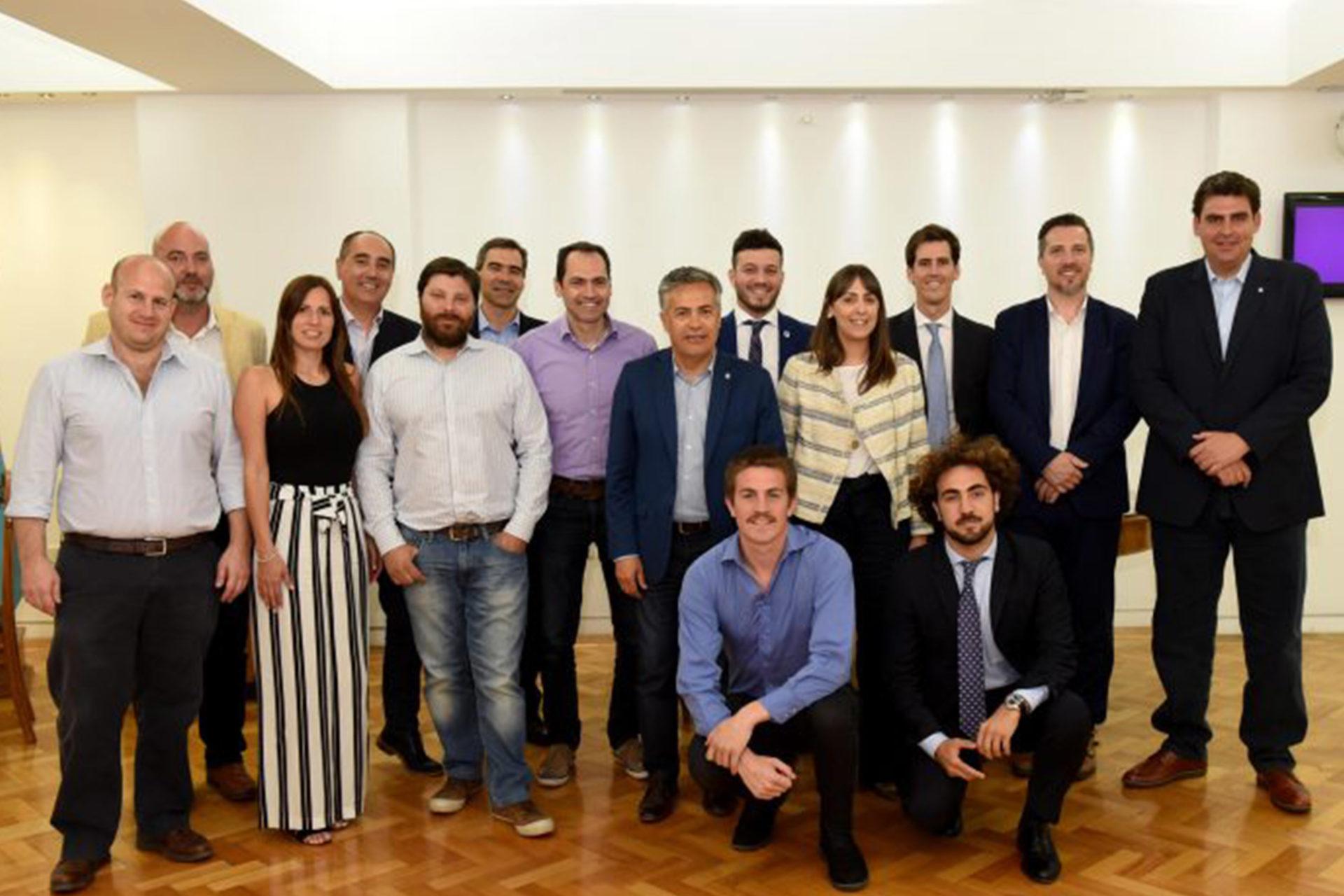 ADEBA Joven participó del encuentro tripartito en Mendoza