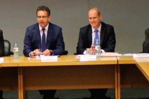 La mesa directiva de ADEBA se reunió con el Banco Central