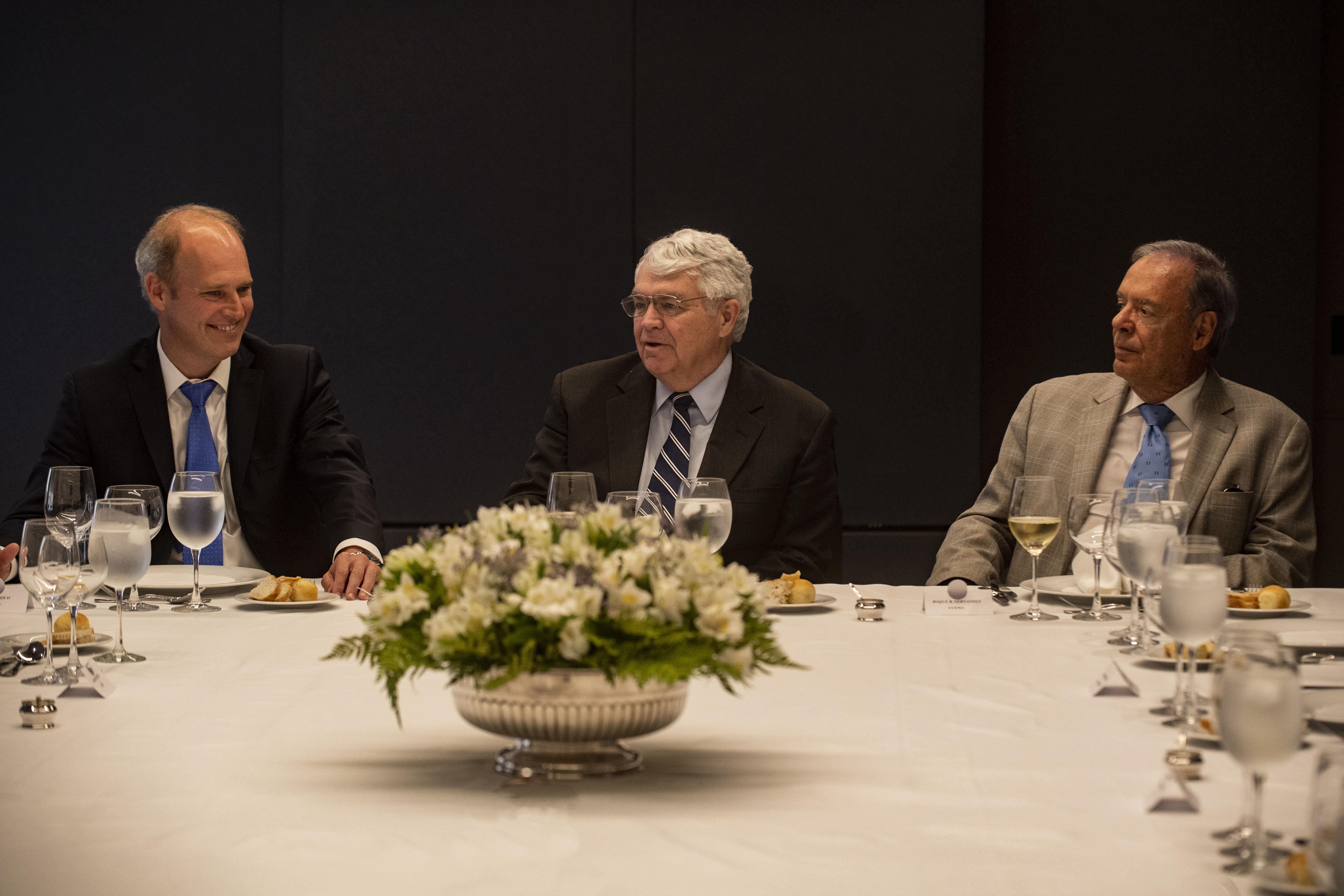 Javier Bolzico, John Taylor y Roque Fernández