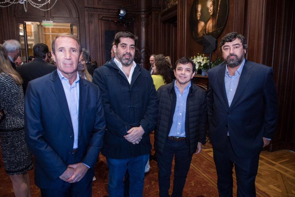 Carlos Arbia, Diego Landi, Esteban Talpone, Juan Cruz Ávila