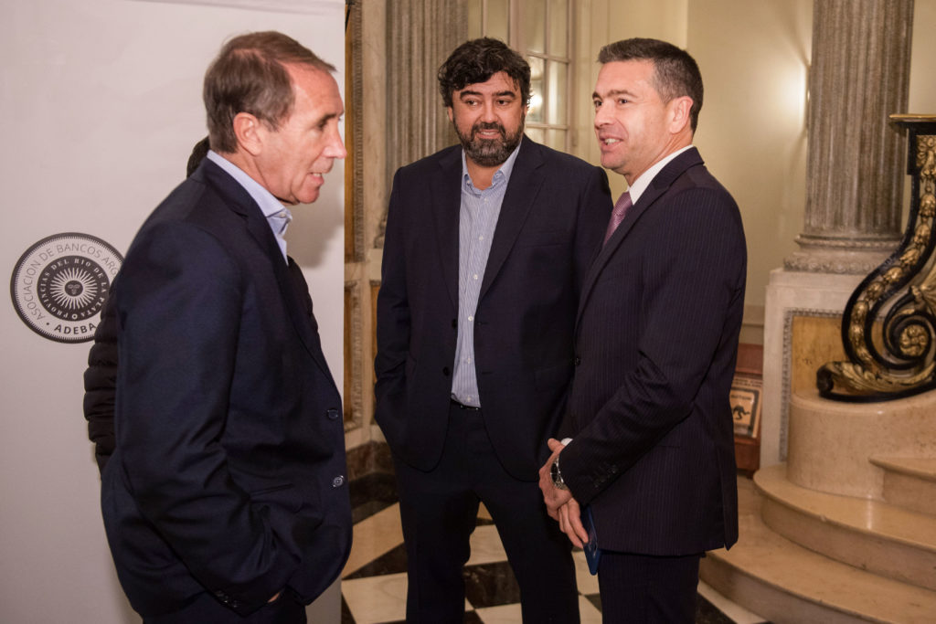 Carlos Arbia, Juan Cruz Ávila y Pablo Rossi