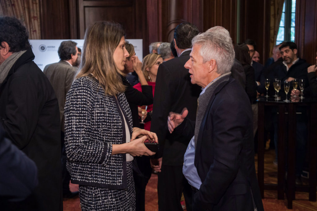 Isela Constantini y Luis Cortina