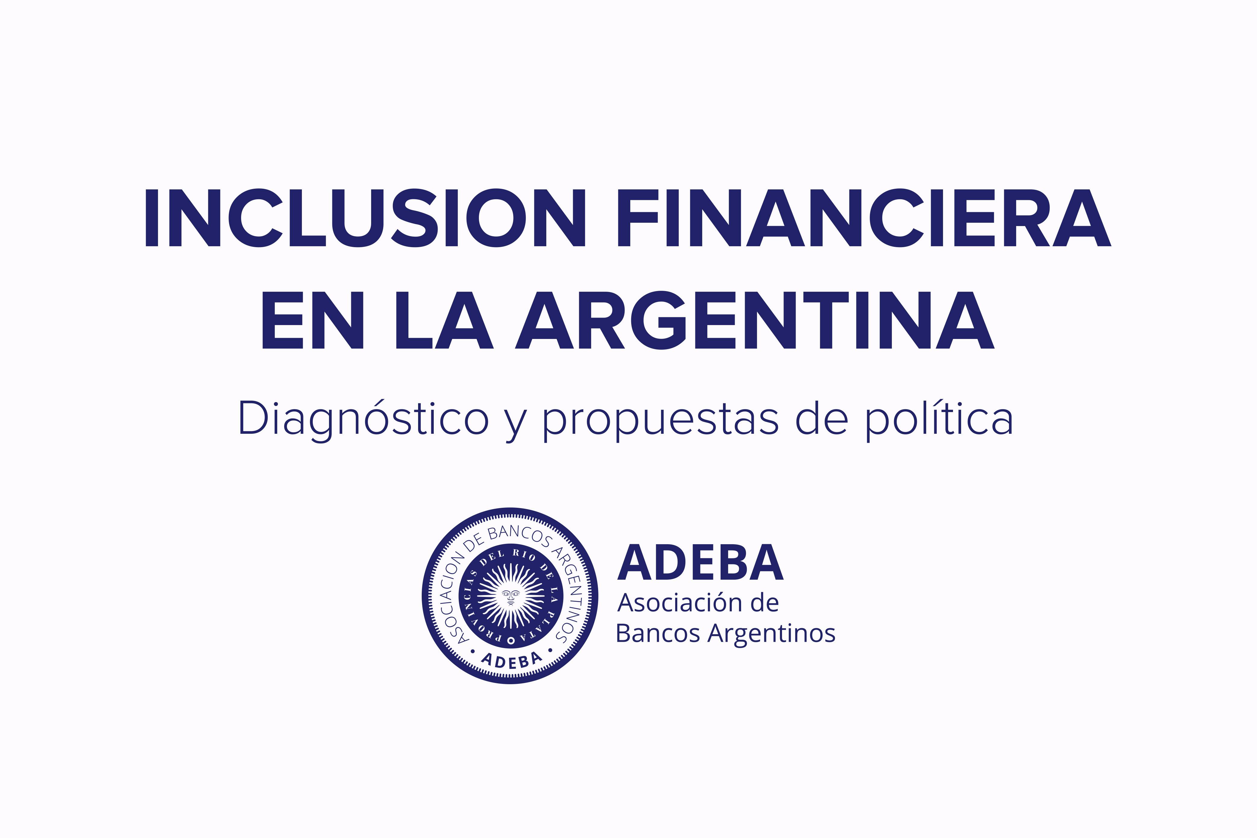 Iniciativa ADEBA para la bancarización e inclusión financiera
