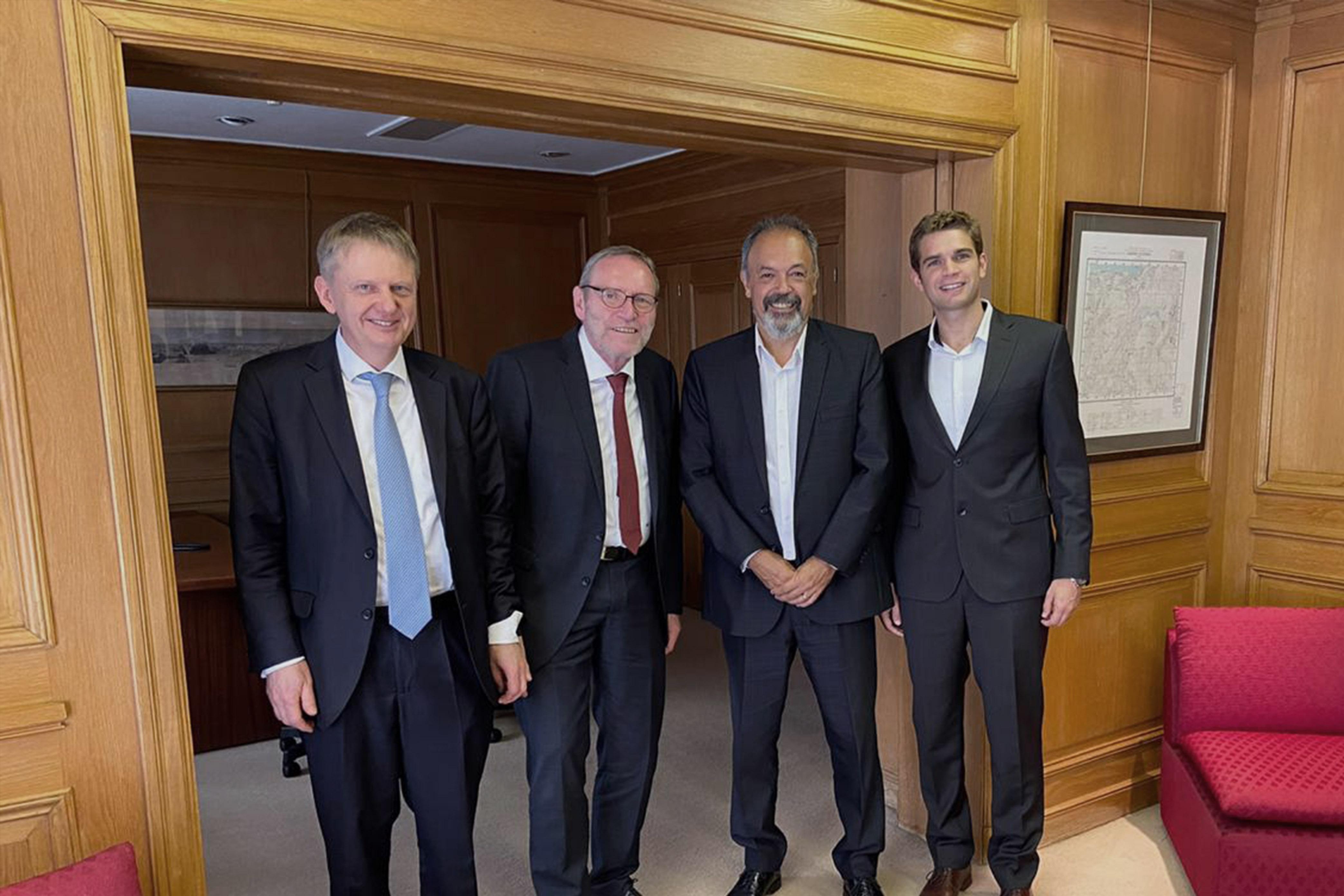 ADEBA recibió a las autoridades de Sparkassen-Finanzgruppe de Alemania